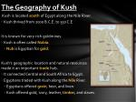 the geography of kush