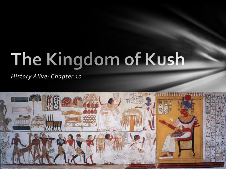 the kingdom of kush n.