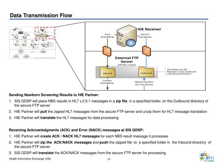 Data Transmission Flow