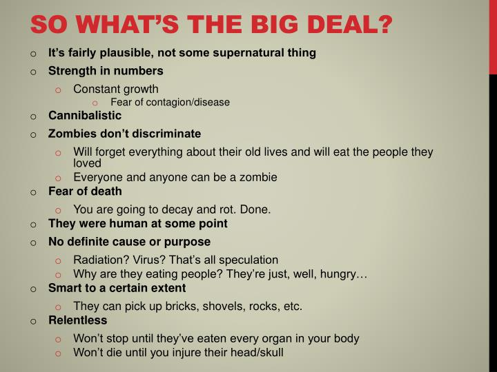 So what's the big deal?