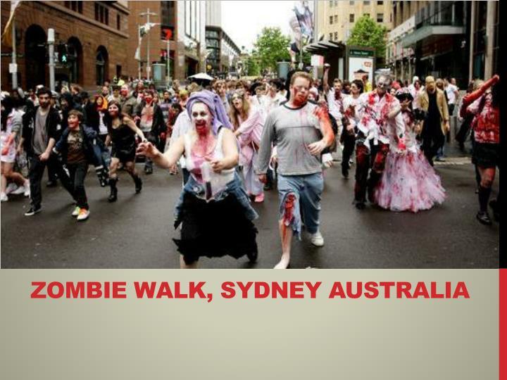 Zombie Walk, Sydney Australia