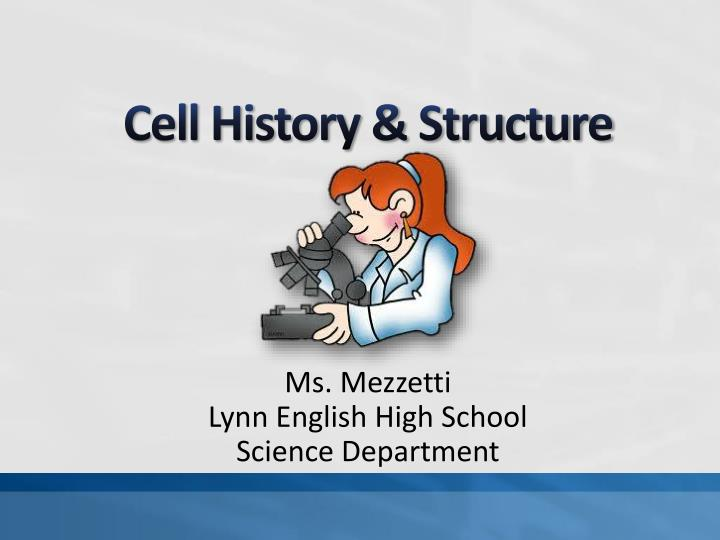 Cell history structure