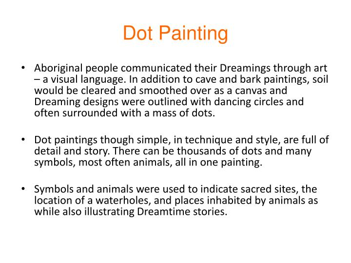 Ppt Aboriginal Art Of Australia Dot Painting Powerpoint