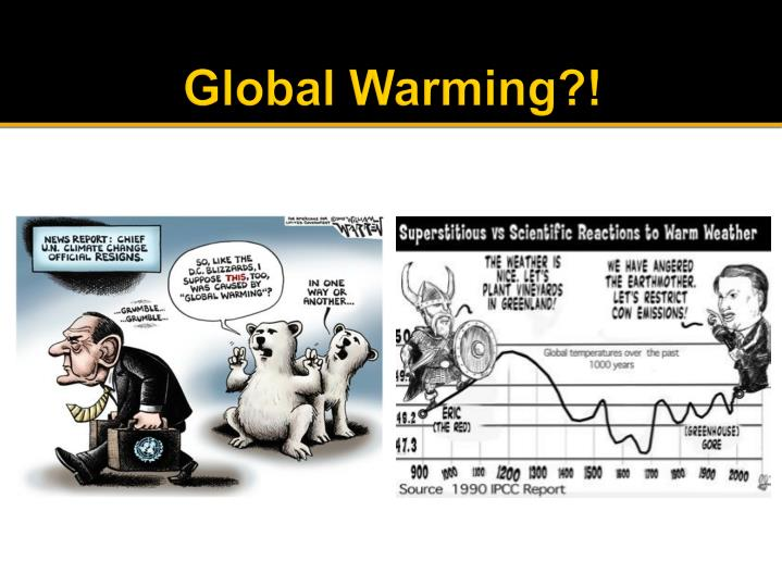 Global Warming?!