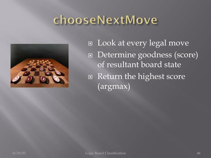 chooseNextMove