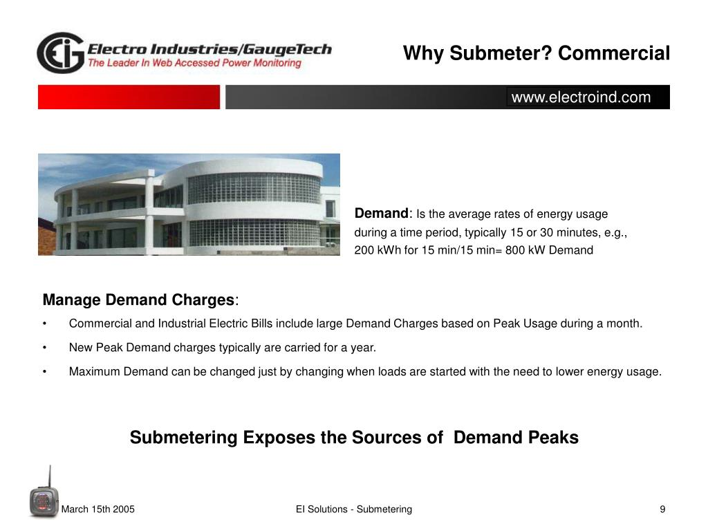 PPT - What is Submetering? PowerPoint Presentation - ID:2624291