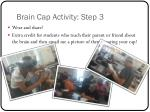 brain cap activity step 3