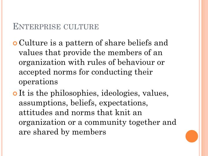 Enterprise culture1
