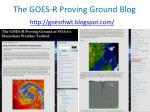 the goes r proving ground blog1