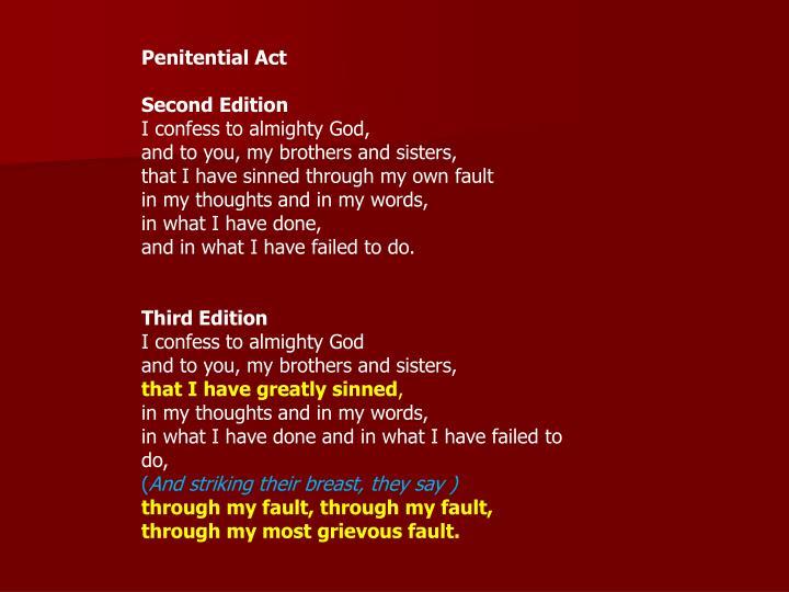 Penitential Act