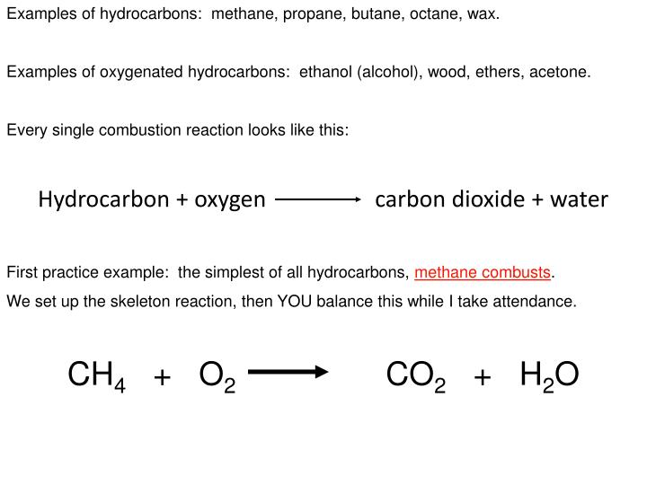 Ppt Ob Combustion Reactions Powerpoint Presentation Id2624690