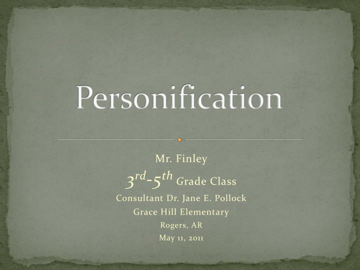 personification n.