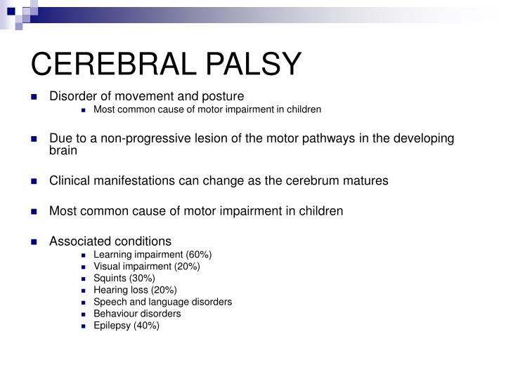 Cerebral palsy1