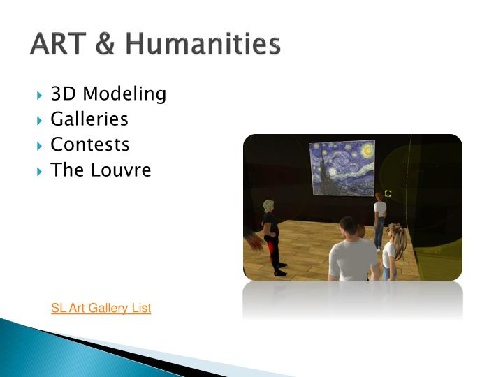 ART & Humanities