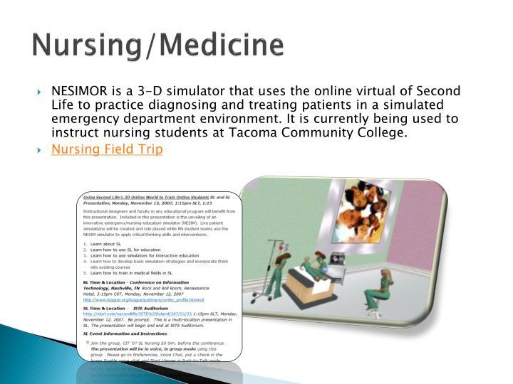 Nursing/Medicine