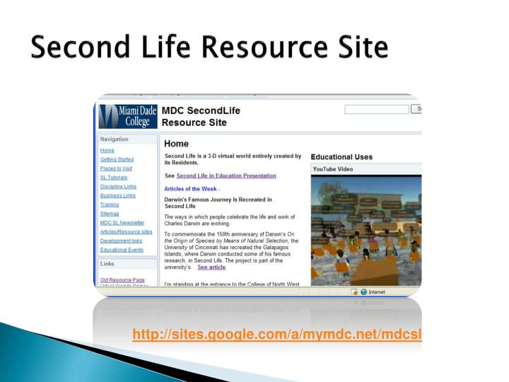 Second Life Resource Site