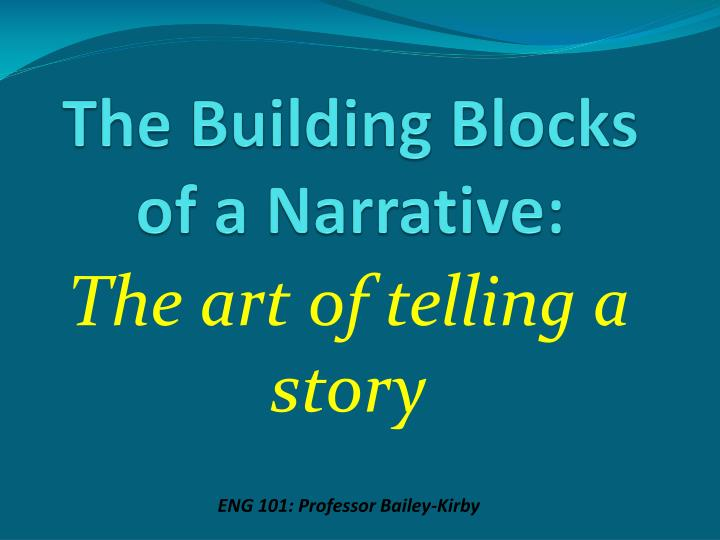 narrative conventions This resource provides a list of key concepts, words, and phrases that multi-lingual writers may find useful if they are new to writing in the north american educational context.
