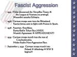 fascist aggression