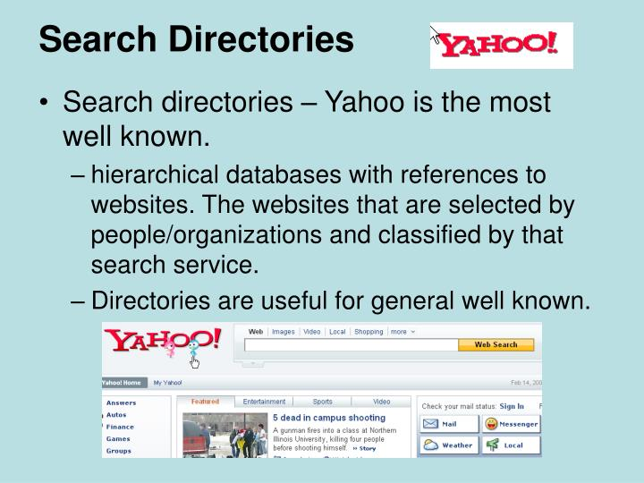 Search Directories