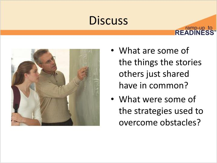 discuss the strategies that are used