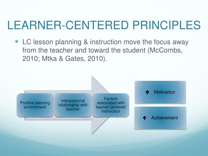 Ppt Learner Centered Lesson Planning And Instruction Powerpoint