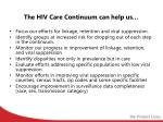 the hiv care continuum can help us