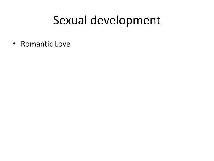 Sexual development