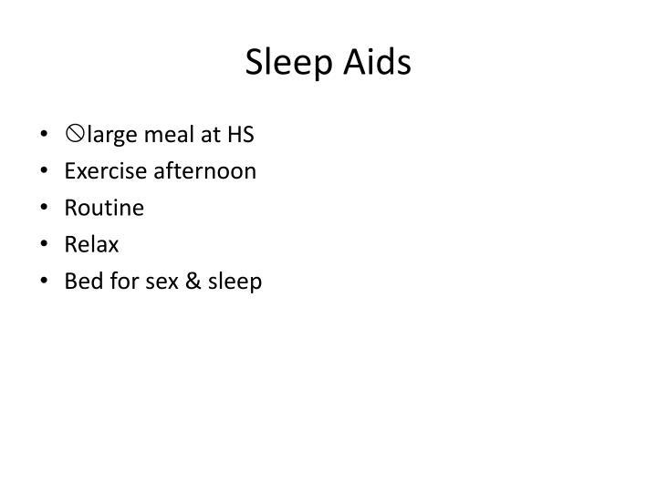 Sleep Aids