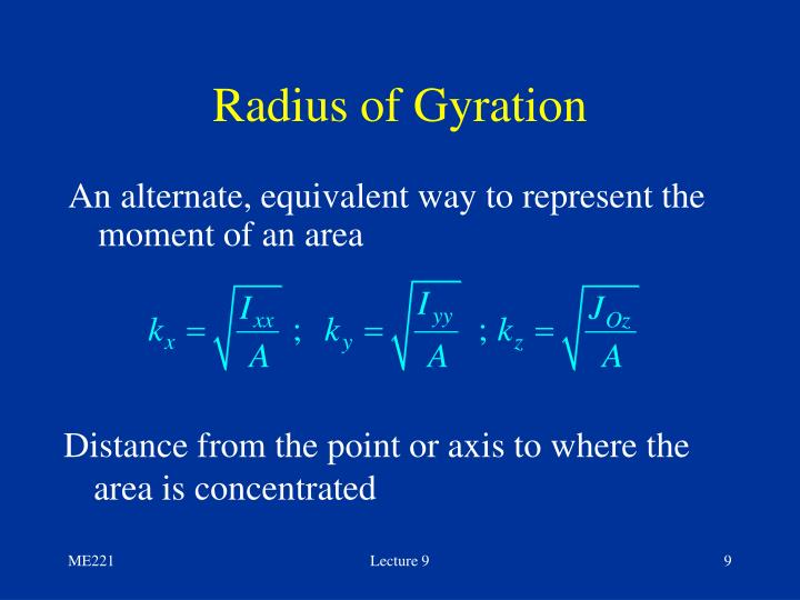 PPT - ME 221 Statics Lecture #9 Sections 9.1 – 9.6 ... Centroid Theorem
