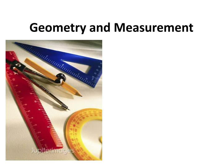 geometry and measurement n.
