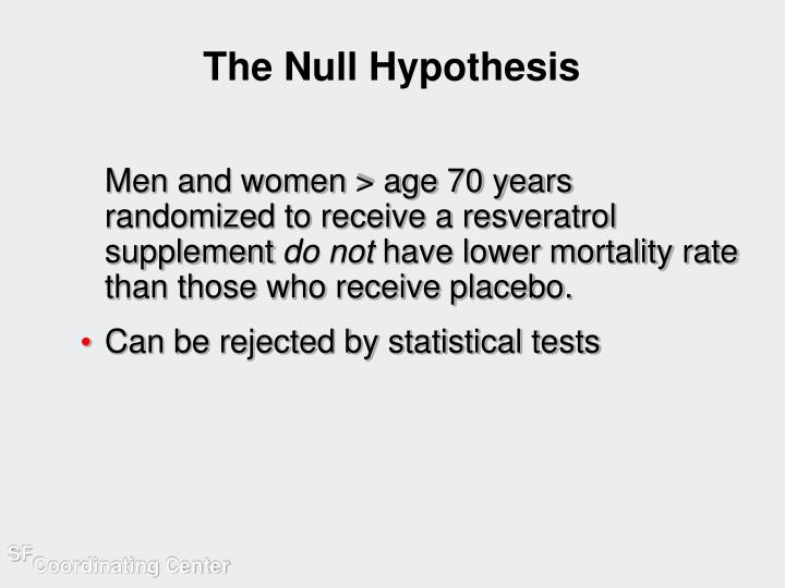 The Null Hypothesis