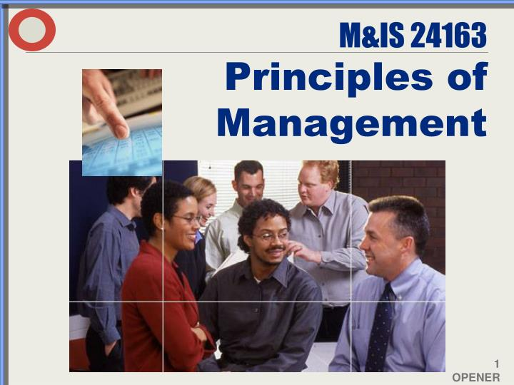 m is 24163 principles of management n.