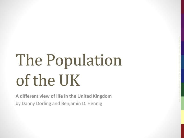 the population of the uk n.