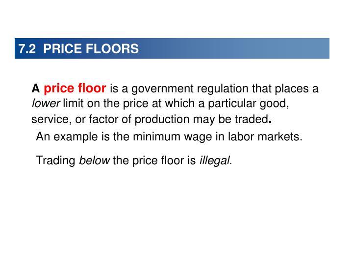 7.2  PRICE FLOORS