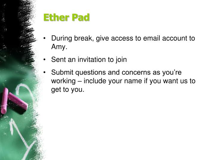 Ether Pad