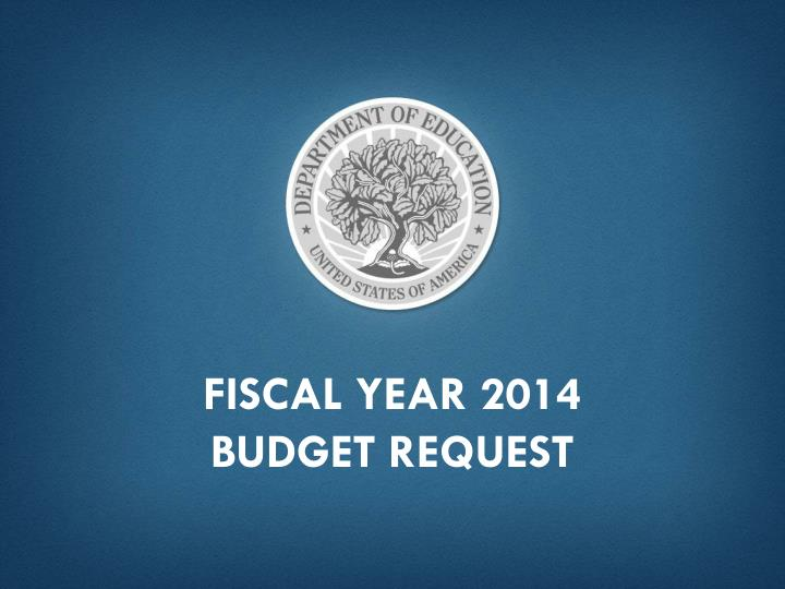 Fiscal Year 2014