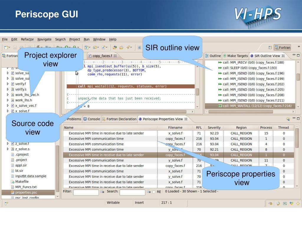 PPT - Periscope Score-P Online Access Tutorial Exercise NPB