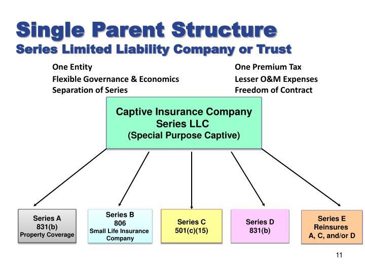 Ppt Series Llc Captive Insurance Powerpoint Presentation Id 2626732