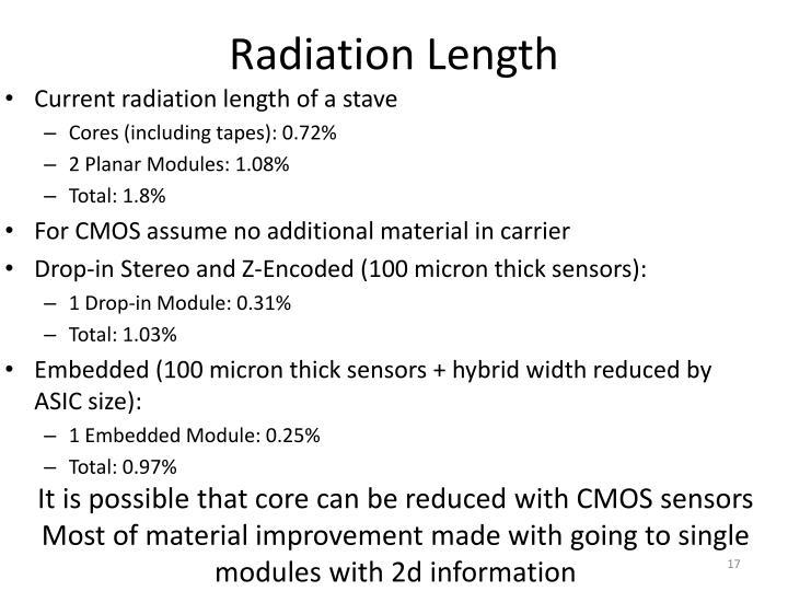 Radiation Length