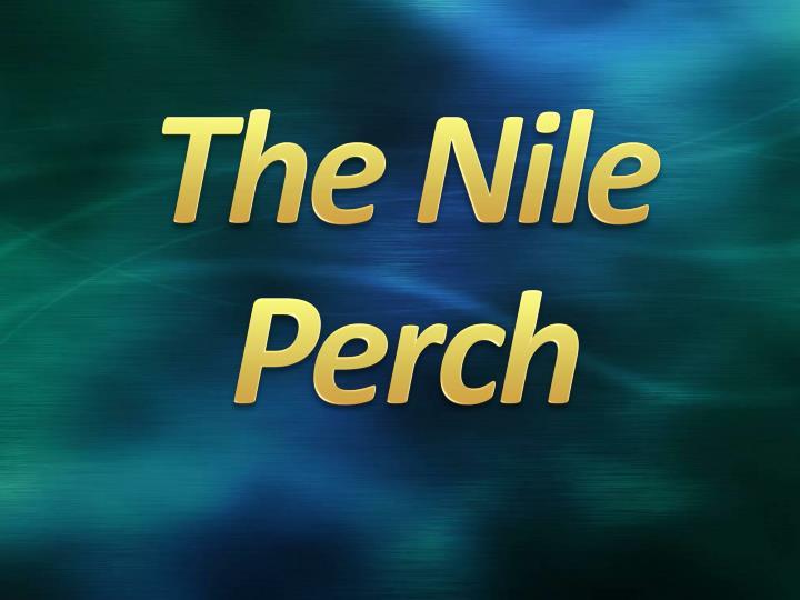 The Nile Perch