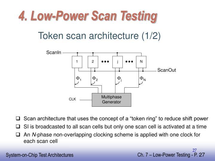 4. Low-Power Scan Testing