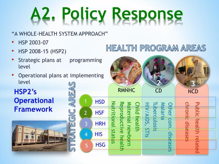 HEALTH PROGRAM AREAS