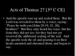 acts of thomas 27 3 rd c ce