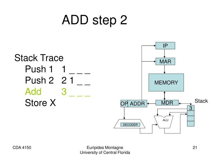ADD step 2