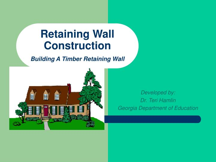 retaining wall construction building a timber retaining wall n.