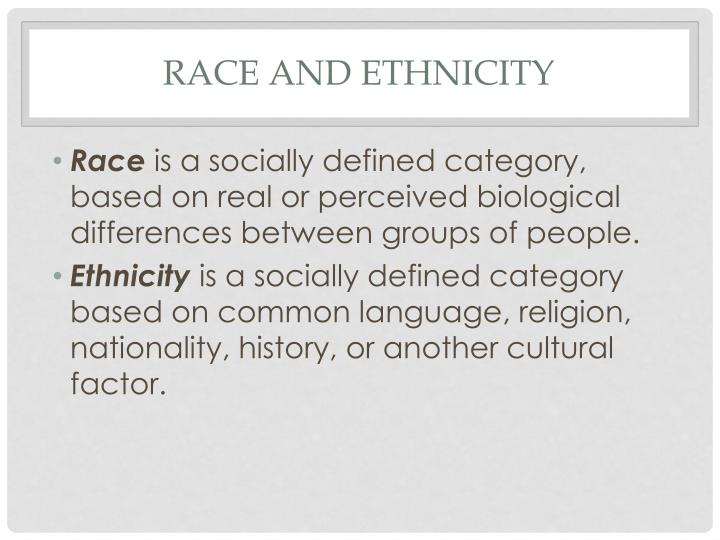 biological differences that exist between individuals in For many people, ethnic categorization implies a connection between biological inheritance and culture they believe that biological inheritance determines much of cultural identity if this were true, for instance, african american cultural traits, such as black english, would stem from genetic inheritance.