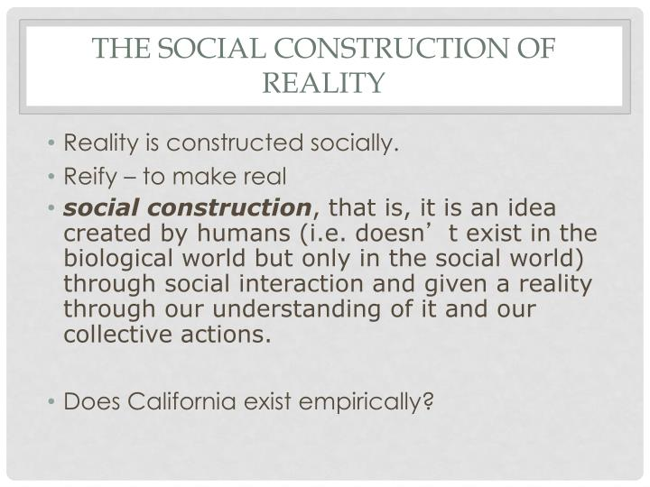 social construction of class