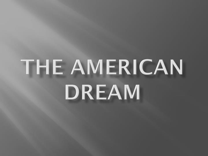 an analysis of american dream in american citizens It's the american dream, thousands try to achieve the opportunity to become an american citizen some hawaii residents extended their.