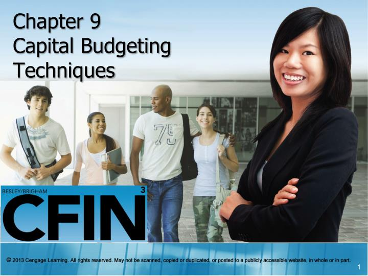 chapter 9 capital budgeting techniques n.