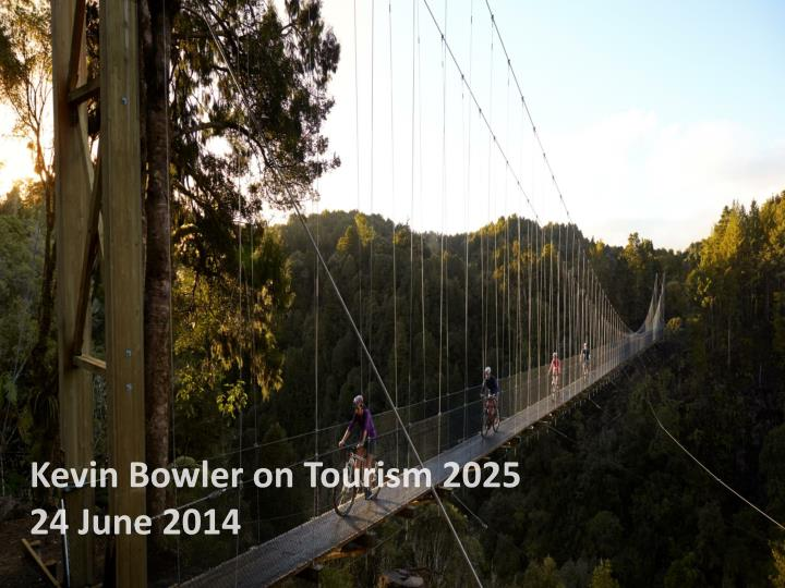 Kevin Bowler on Tourism 2025
